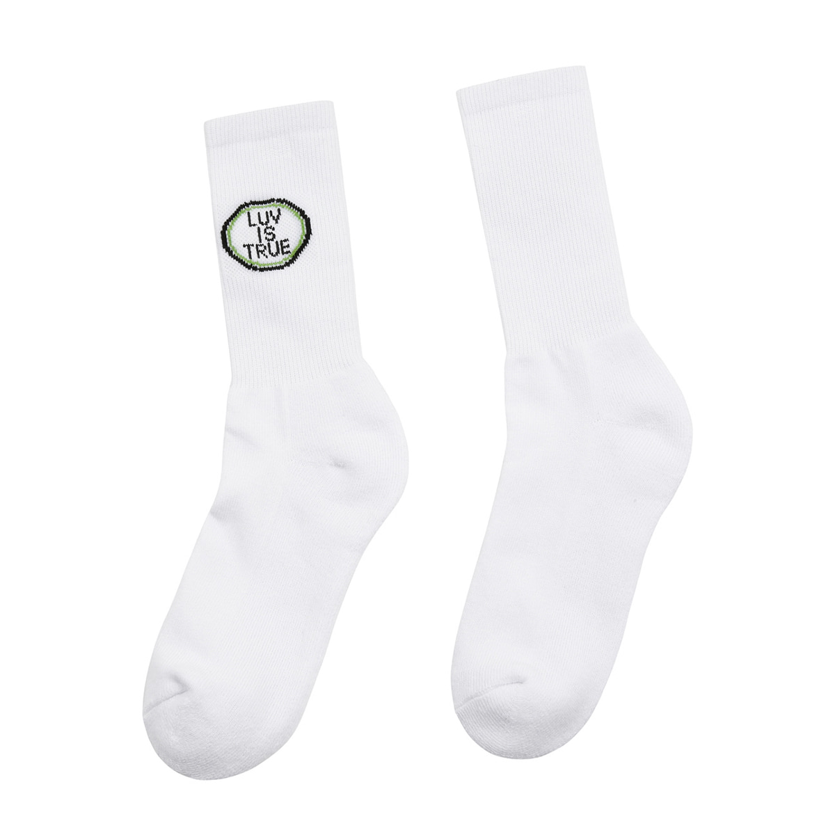 (UNISEX)DS CIRCLE LOGO SOCKS (BLUE)