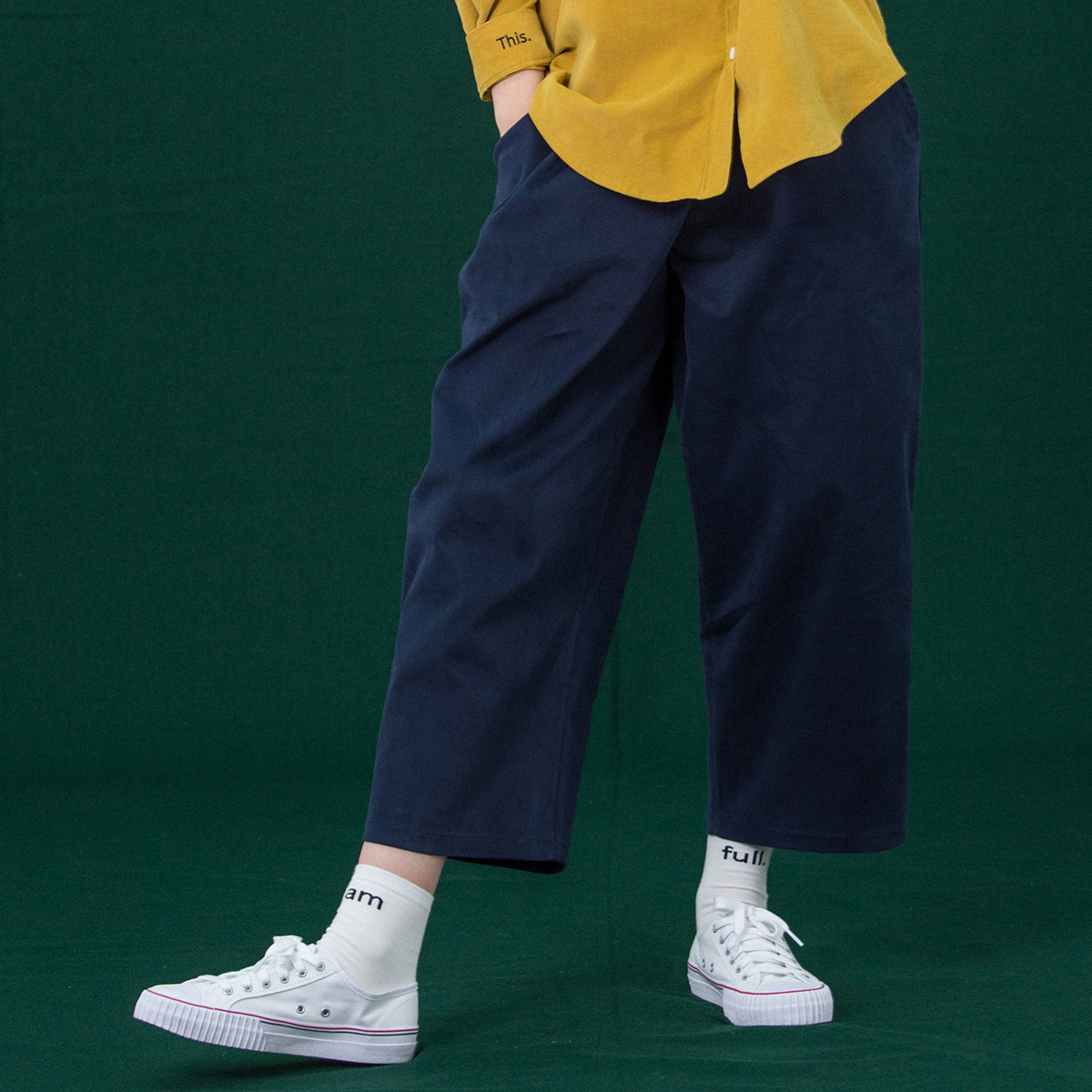 (UNISEX)CH LUV PANTS_NV