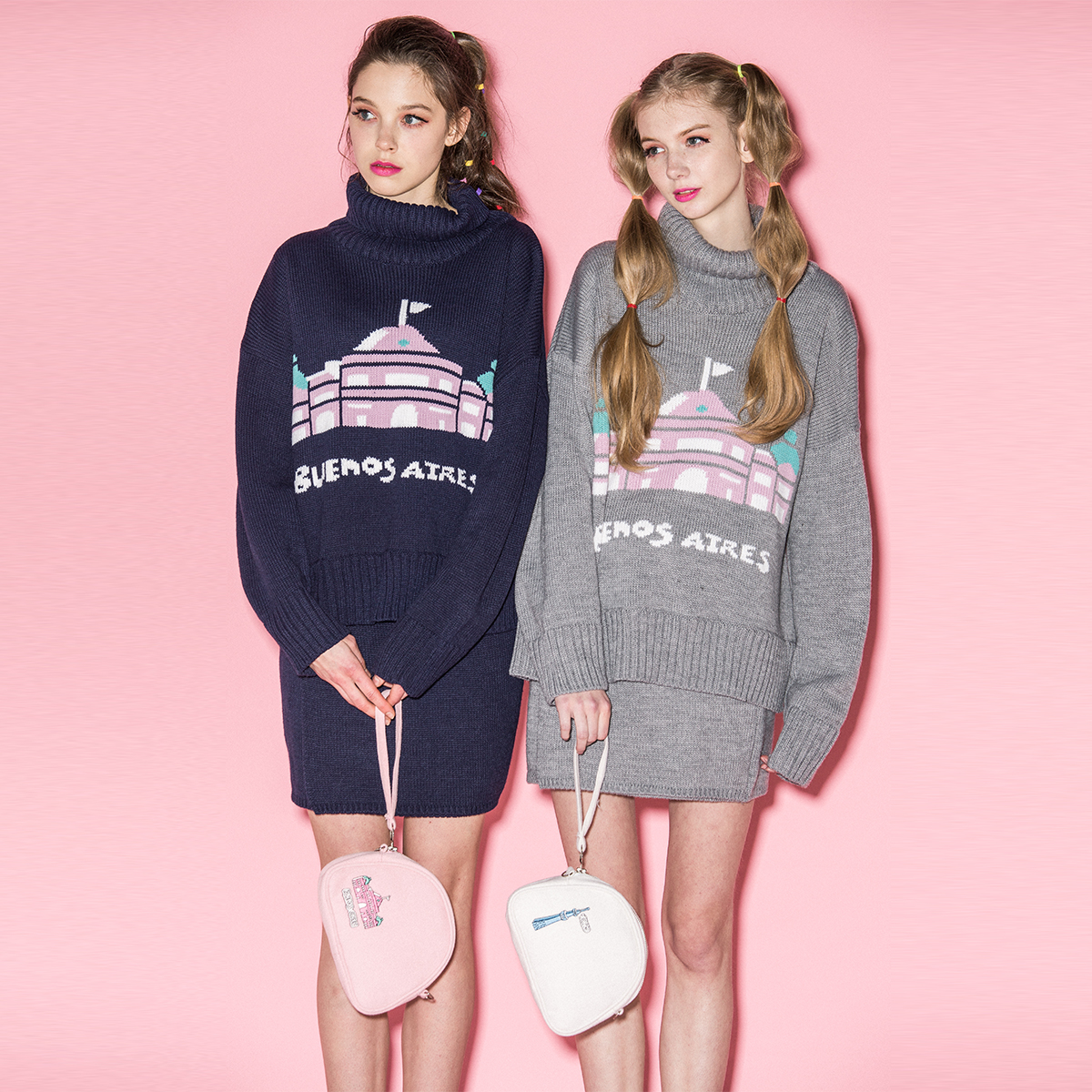 BU  TWIN KNIT_GY