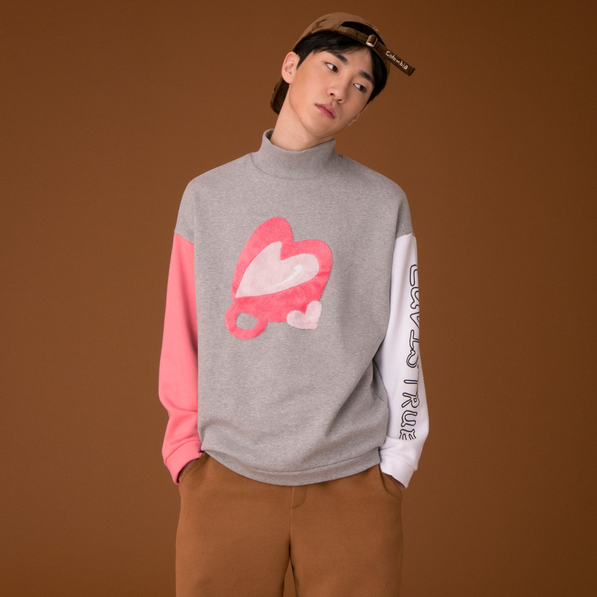 (UNISEX)CE HEART CUP MTM_GY