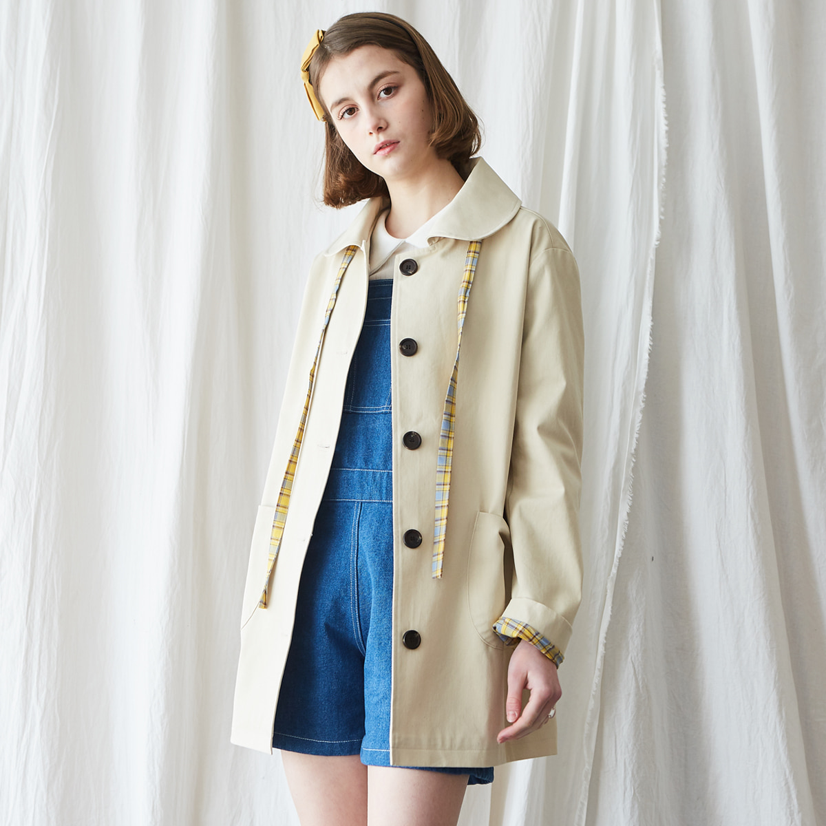 MA MAC COAT(BEIGE)