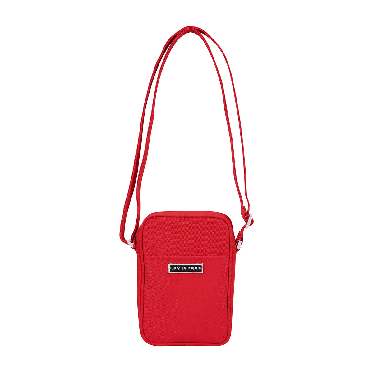 (UNISEX)BG CROSS BAG(RED)
