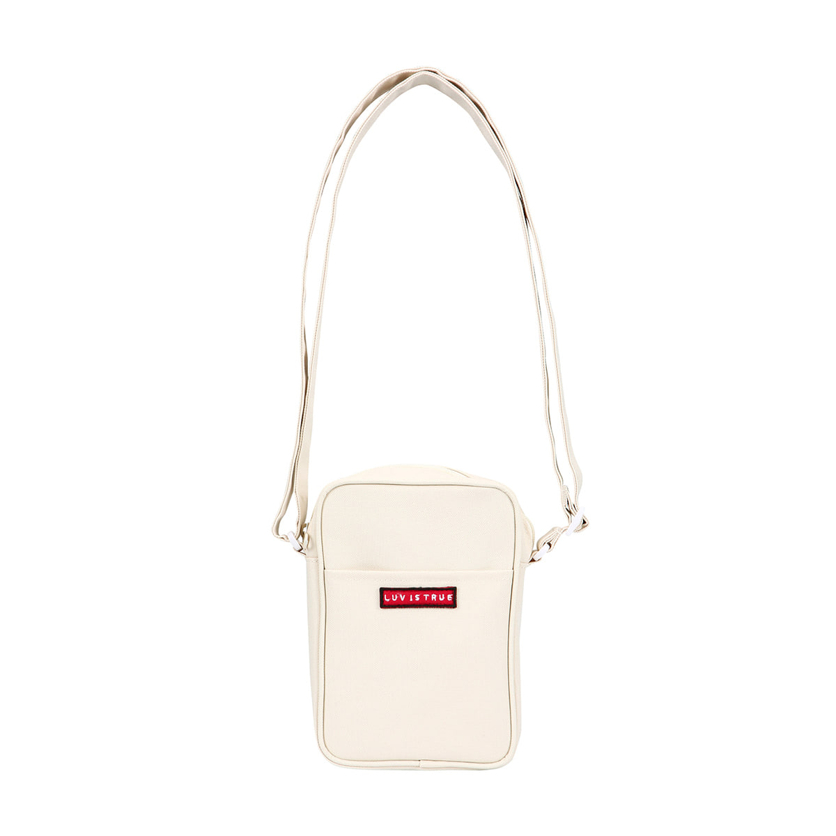 (UNISEX)BG CROSS BAG(IVORY)